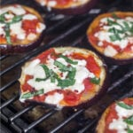 Eggplant pizza recipe Pinterest recipe