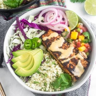 Whole30 Fish Taco Bowls