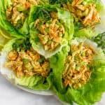 Paleo Buffalo Ranch Chicken Salad (Whole30) Pinterest image
