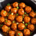 Instant Pot BBQ Chicken Meatballs (Paleo/Whole30)