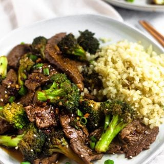 Paleo Beef & Broccoli Stir Fry (Whole30)