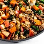 Sweet Potato Sausage Hash Pinterest image
