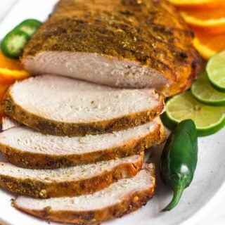 Spicy Grilled Citrus Turkey Breast (Paleo)