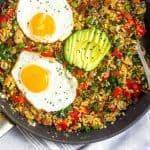 Paleo Breakfast Fried Rice (Whole30) Pinterest Image