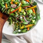 Carrot salad Pinterest image