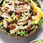 Cranberry Pecan Chicken Salad Pinterest image