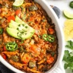 Spicy Chicken Enchilada Dip (Paleo/Whole30)
