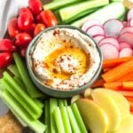 Paleo Cauliflower Hummus (Whole30)