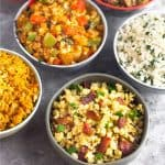 6 Whole30 Cauliflower Rice Recipes (Paleo) Pinterest text