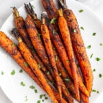 Grilled Carrots with Cinnamon & Chipotle
