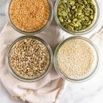 All about seed cycling Pinterest image