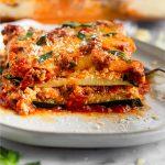 Low Carb Zucchini Lasagna Pinterest image