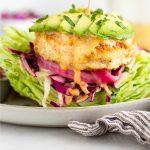 Mahi Mahi Burgers Pinterest image