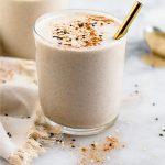 Tahini milkshake pinterest image