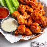 Air Fryer Buffalo Cauliflower Pinterest image