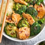 Chicken and Broccoli Stir Fry Pinterest image