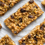 Oatmeal Raisin Bars Pinterest image