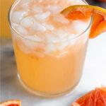 Grapefruit cocktail Pinterest image