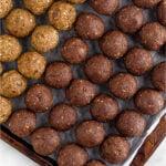 Seed cycling balls recipe Pinterest image