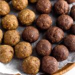 Seed cycling ball recipe Pinterest image