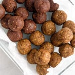 Vegan Seed cycling ball recipe Pinterest image