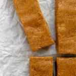 Pumpkin spice protein bars Pinterest image
