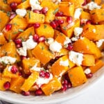 Butternut squash goat cheese Pinterest image