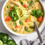Cheesy chicken potato soup Pinterest recipe