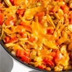 Healthy Chicken Casserole with rice Pinterest image