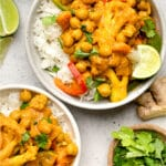 Vegan Chickpea Curry Pinterest image